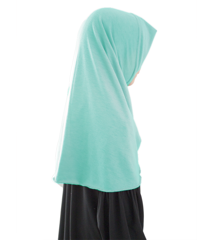 1 piece hijab mint