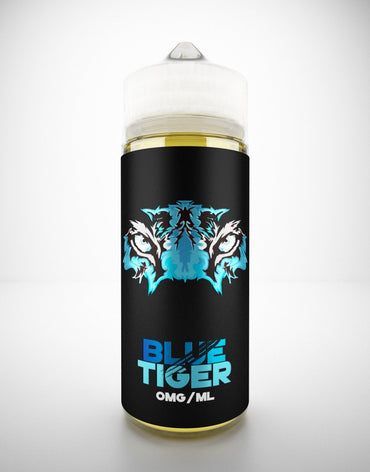 Blue Tiger - 120ml (100ml shortfill with 2 x 10ml Nicotine Shots)