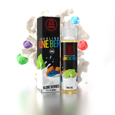 Klone Berries 60ml (50ml shortfill with 10ml Nicotine Shot)
