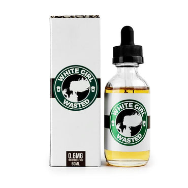 White Girl Wasted - 60ml (50ml shortfill with 10ml Nicotine Shot)