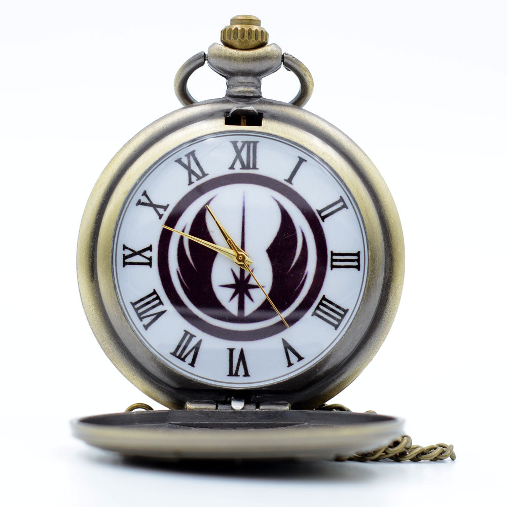 Star Wars Jedi Quartz Pocket Watch
