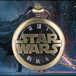 Star Wars Vader Design Black QuartzPocket Watch