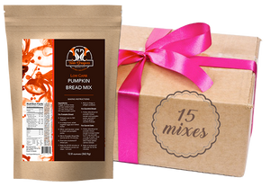 Low Carb Pumpkin Bread Mix - Case of 15