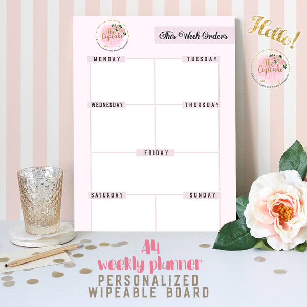 Personalised Planner Board