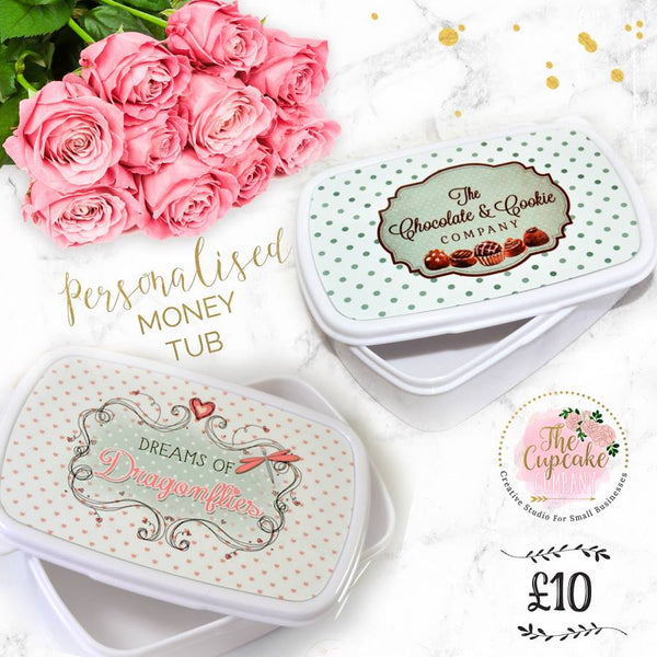 Personalised Money Tubb