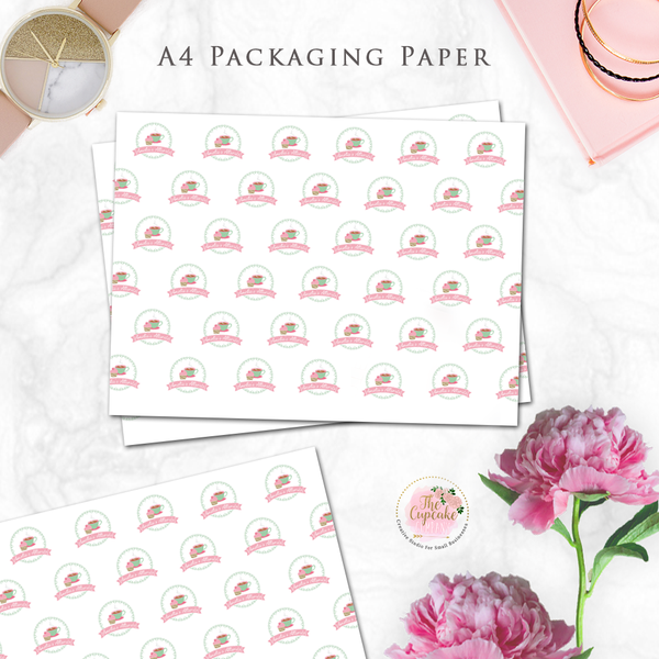 Personalised Translucent Packaging Paper A4