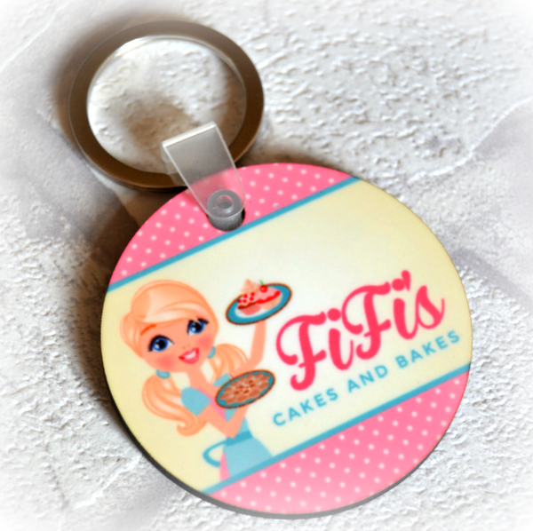 Personalised Keyring