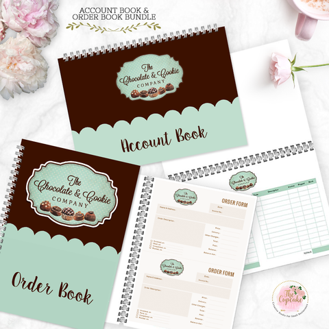 Order Book & Account Book Bundle