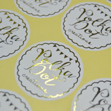 Personalised Foil Stickers