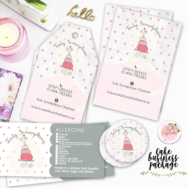 Cake Business Stationery Package
