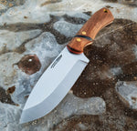 Handmade Bushcraft knife, Made in Denmark, Hvedegaard Knives