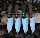 Bushcraft knife, Made in Denmark, Hvedegaard Knives