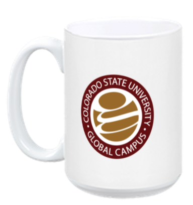 CSU-Global Logo Mug