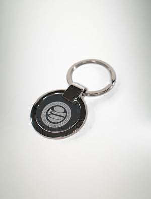 CSU Global Stainless Steel Key Chain
