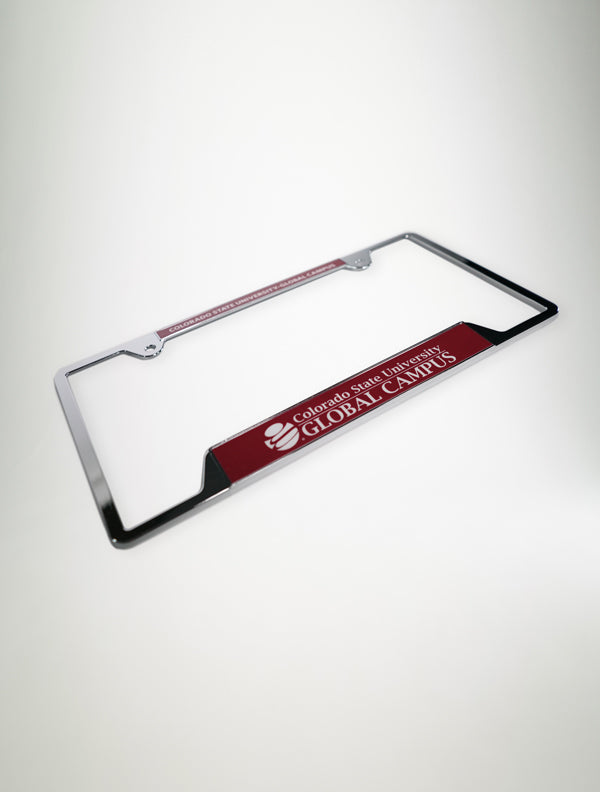CSU Global License Plate Frame