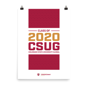 Classo of 2020 Poster