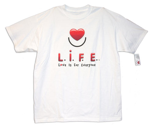 Heart with a Smile L.I.F.E. Tee
