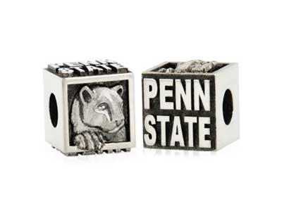 Penn State Nittany Lion Cube Bead