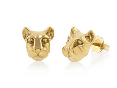 Penn State Nittany Lion Head Earrings