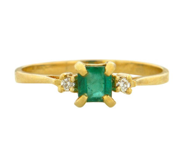 Sweet Emerald Ring