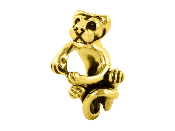 Penn State Nittany Lion Grappler 14KY Gold Bead