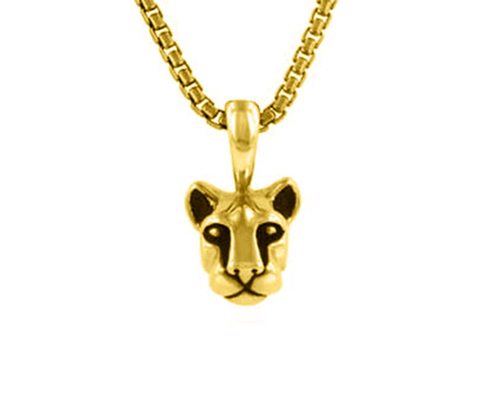 Penn State Nittany Lion Head Pendant-14KY Gold, Small