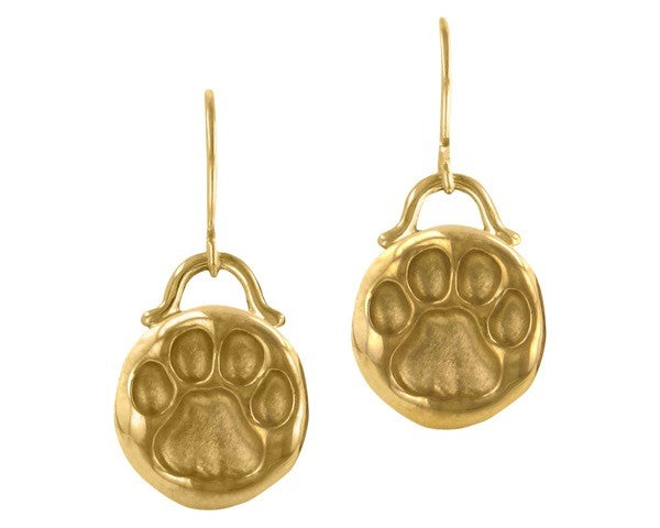 Penn State Nittany Lion Track Dangle Earrings