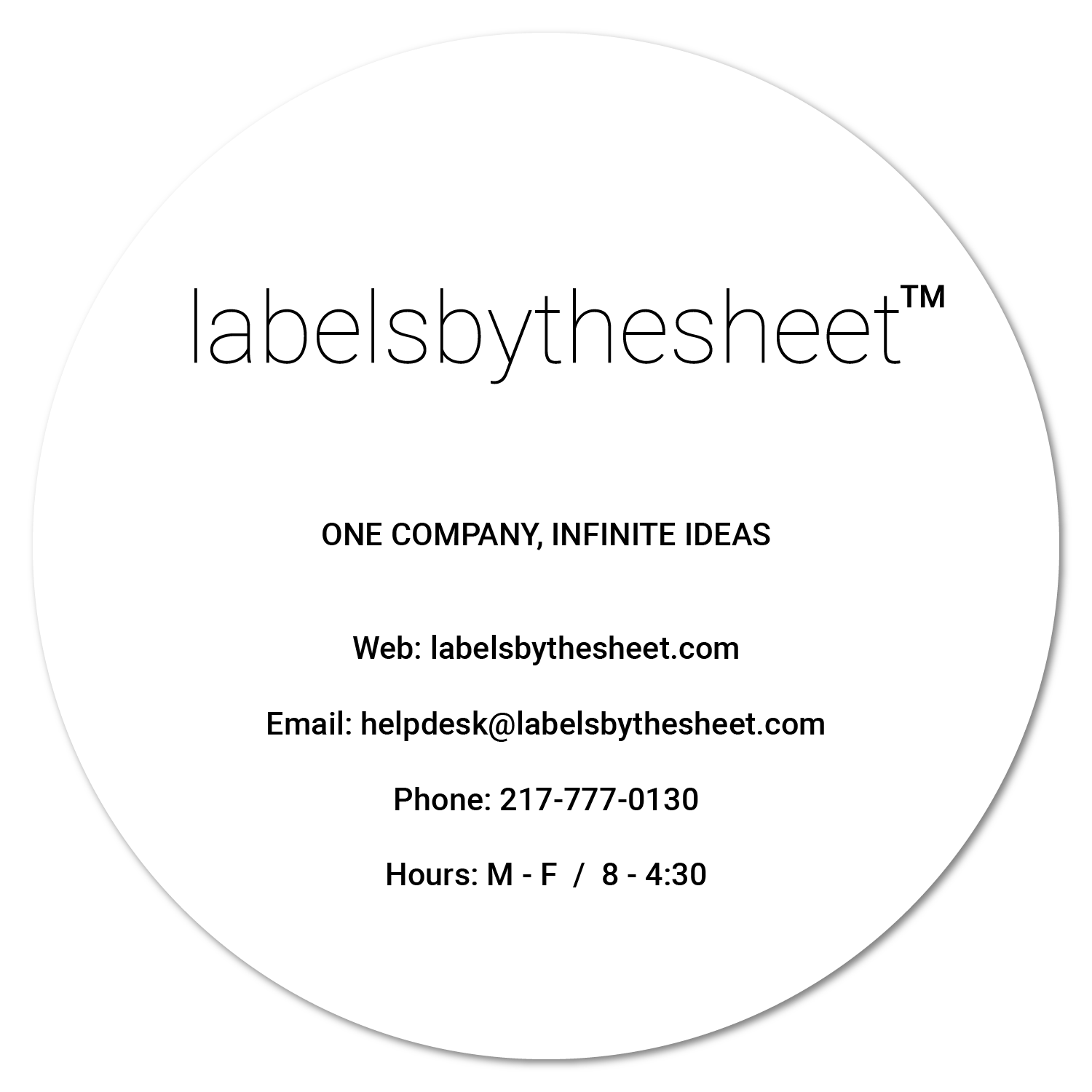 Label Design Services – labelsbythesheet com
