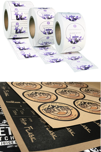 Custom Label Printing Low Minimum