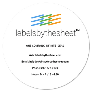 Text & Logo Label Setup
