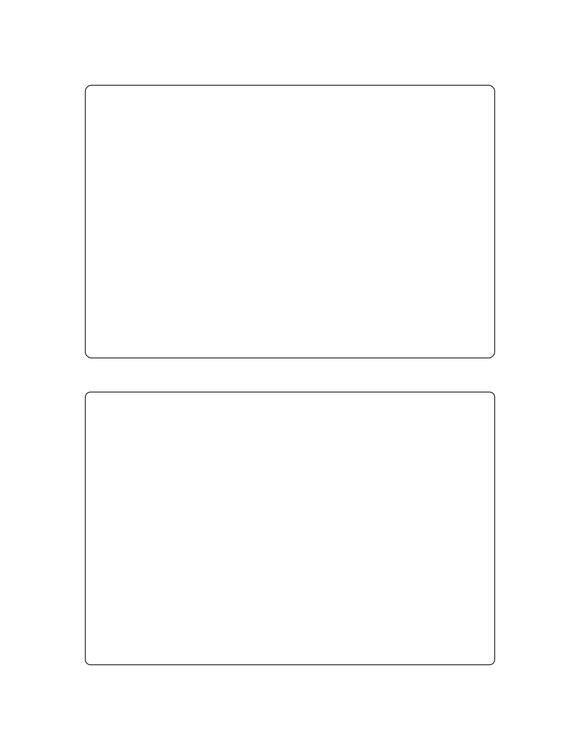 6 x 4 Rectangle Fluorescent RED Label Sheet (Bulk Pack 500 Sheets)