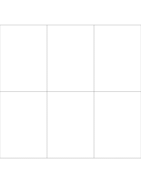 2.833 x 4 Rectangle White Label Sheet