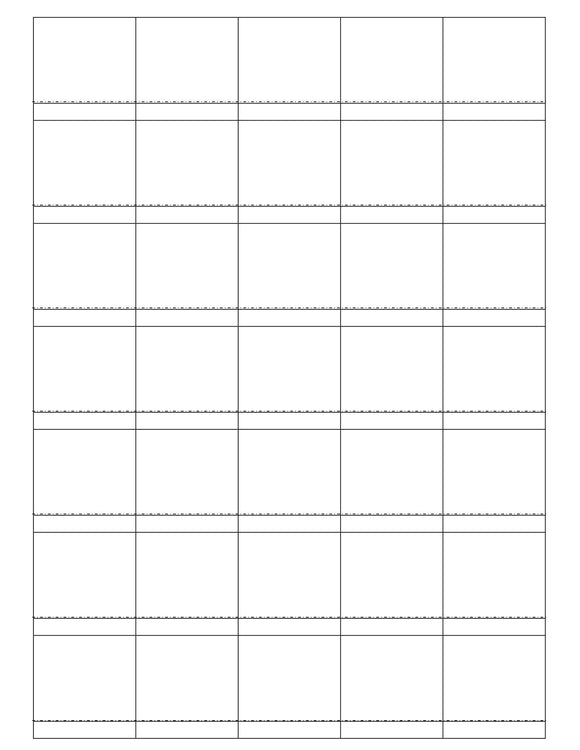 1 1/2 x 1 1/2 Square White Label Sheet (Price Label)