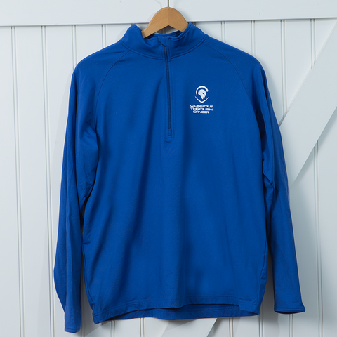 Men's SportTek 1/2 Zip Pullover