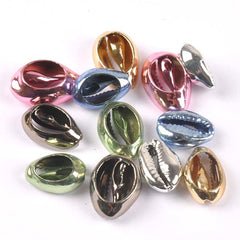 5Pcs Natural Shell multicolor Plated for DIY handmade SeaShells Home Wedding Craft Decoration