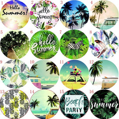 Summer Round Beach Towel Boho 48 Beautifull designs Large waist Wrap