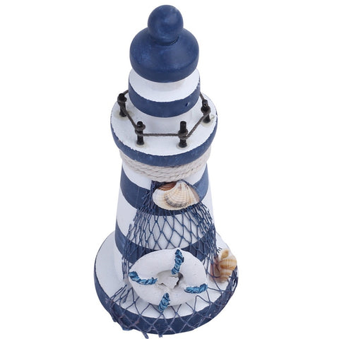 Nautical Wood Wooden Lighthouse Beacon Tower Beach