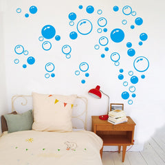 Bubble Wall Art Bathroom Window Shower Tile Decoration Decal Kid wall Sticker 3 Color