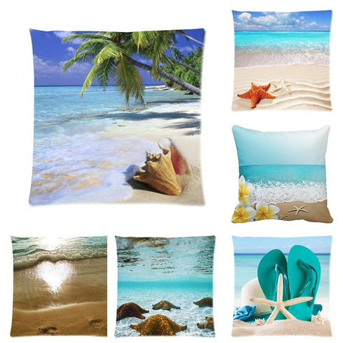 Happy Place Beach Pillowcase