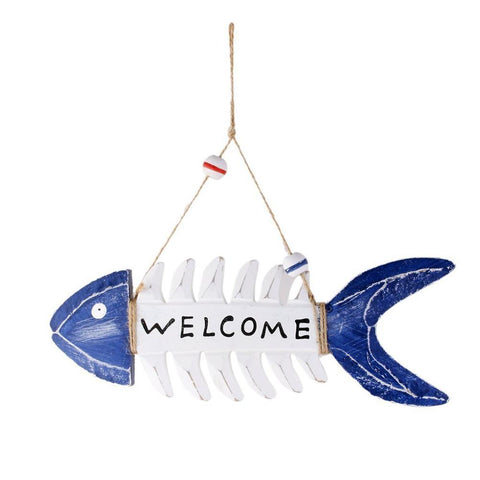 Welcome Fish Skeleton