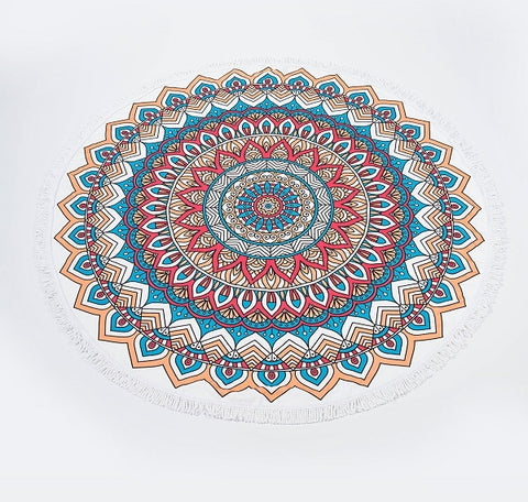 Copy of 21 Designs of Beach Towel Microfiber Round Wall Hanging Bath Towel Yoga Mat Shawl