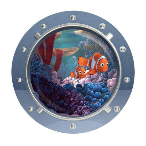 3D Sticker  10 Designs home decor wall Decal Beautiful Ocean fish and Creatures