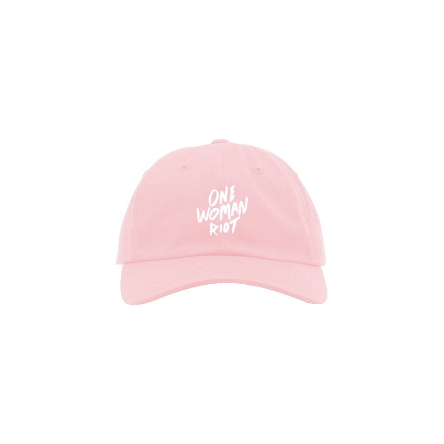 Pink One Woman Riot Hat