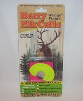 Berry Turkey Call - Single Wedge Frame Reed