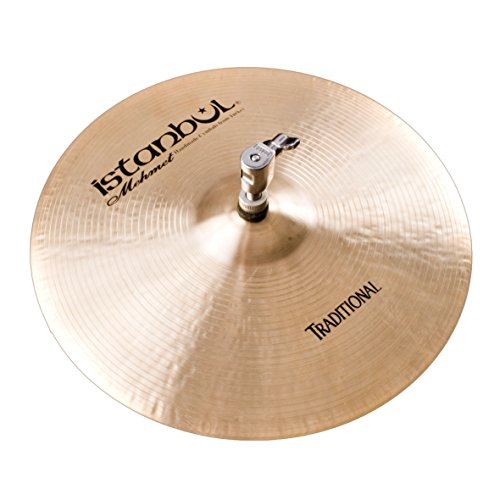 Istanbul Mehmet Cymbals 10-Inch Traditional Hi-Hat Heavy