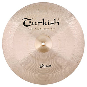 Turkish Cymbals 22-inch Classic Reverse Bell China