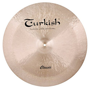 "Turkish Cymbals 19"" Classic China"