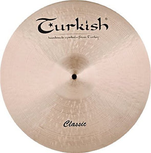 "Turkish Cymbals 21"" Classic Ride Sizzle"