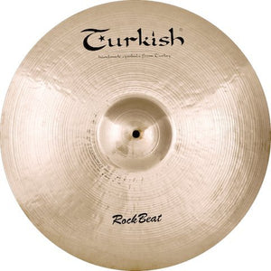"Turkish Cymbals 22"" Rock Beat Ride"