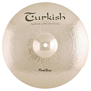 "Turkish Cymbals 17"" Rock Beat Thin Crash"
